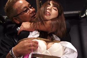 波多野結衣 拘束された女捜査官が電マでひたすらイカされまくる!