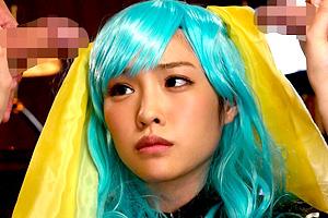 橋本ありな 9頭身のスレンダー美少女がアニメコスプレで着衣SEX!