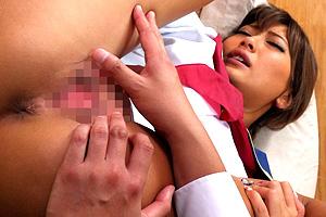 AIKA 貞操観念が逆転した世界で性欲が尽きないギャルJKの連続SEX!