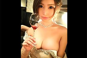 【中出し】人気No.1の巨乳キャバクラ嬢がアフター飲みで泥酔SEX!