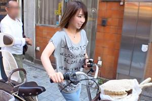 【ナンパTV】商店街で買い物中のママチャリ人妻をホテルに連れ込むSEX動画
