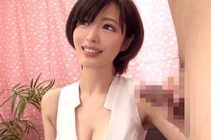 【人妻】エレガントなショートカット奥様が童貞くんを筆下ろし!