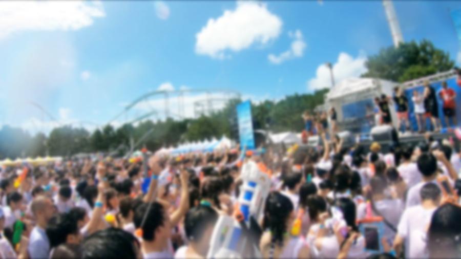 【ナンパTV】水着美女が集まるフェスでゲットした巨乳ビキニギャルとの乱交SEX動画