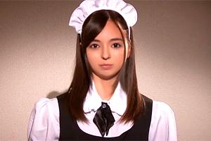 西田カリナ 私をお仕置きして下さい…。ハーフ美少女メイドを懲罰レイプ!