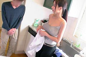 【童貞】清掃業者呼んだら巨乳のお姉さんが来たんでついでにチンポも綺麗に抜いてもらった