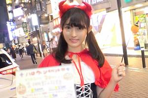 【ナンパTV】ハロウィンの渋谷でゲットした可愛いお姫様をイカセまくるSEX動画