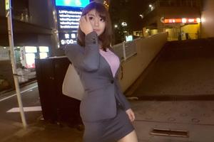 【ナンパTV】スーツ姿でも巨乳おっぱいが目立つ不動産レディの着衣SEX動画