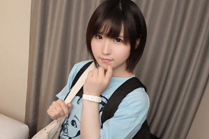 【ナンパTV】ショートカットヘアの童顔美少女(20)をホテルに連れ込んだSEX動画