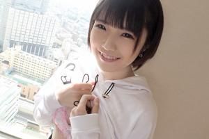 【シロウトTV】透明感120%ショートカットのロリ顔美少女が大声でイキまくるSEX動画