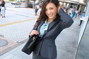 【ナンパTV】新宿で外回り営業中の清楚系美人OLさん!即ハメGET!