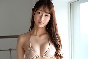 新名あみん 天使のようなルックスにFカップのくびれボディ、超美形女子大生がAVデビュー!