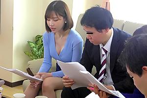 深田えいみ 他人妻ってなんでエロく見えるのか…。保護者会で不倫セックス