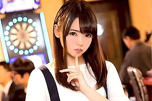 枢木あおい 京都弁がカワイイ美少女とSEXを賭けたダーツ勝負!