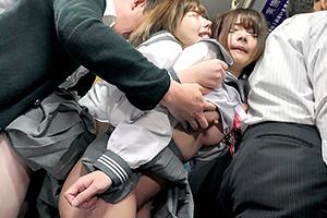 深田えいみ バス通学に慣れていない新入生JKが痴漢魔に狙われる