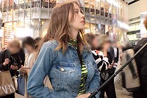 【ナンパTV】服が破れそうなピンク乳首の巨乳ロシア美女をホテルに連れ込む!