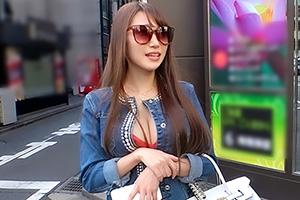 【ナンパTV】谷間がエロすぎる圧巻テクの高級デリヘル嬢と濃厚SEX