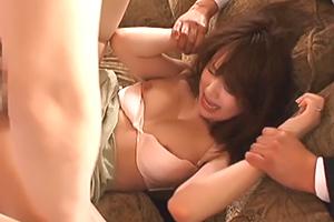 【レイプ】吉沢明歩 犯された快感が忘れられない人妻の背徳セックス