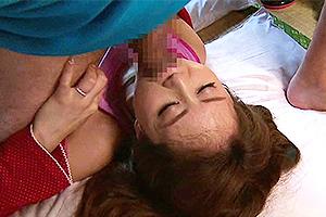 吉沢明歩 突然義弟に襲われてしまう人妻。フル勃起ちんぽを無理矢理イラマチオ!