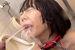 七海ゆあ 大量のおしっこを飲尿させられ窒息寸前!そのまま輪姦される変態ドM女!