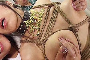 桑田みのり 水原麗子 黒くて長い乳首の女がレズ女に母乳を絞られて悶絶!