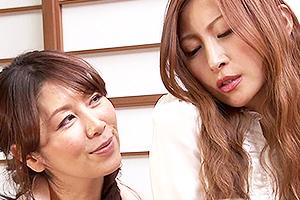 愛咲れいら 翔田千里 美人な人妻が婦人会でストリップ!全裸にされて辱められる!