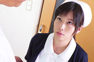 奥田咲 深夜の病室で患者にパイズリご奉仕するピンク乳首の巨乳ナース