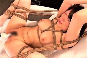 沙藤ユリ 巨乳縛られて辱めの快楽拷問女体に食い込むロープに電マ責めに強制ECSTASY!