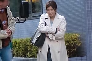 【ナンパTV】エロフェロモン漂う巨乳キャリアウーマンの甘え声SEX!