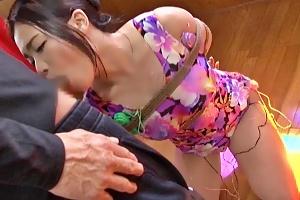 鶴田かな 屈辱の剃毛猛特訓パイパンアスリートがコーチの肉棒拘束フェラして快楽メス犬に…