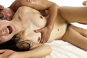 古川いおり スレンダー美女が台本無しのガチセックス!寝バックでガン突きされザーメンをたっぷり顔射!