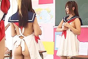 成瀬心美 みづなれい 赴任した女子校は裸エプロンが制服というハーレムすぎるハレンチ学園!