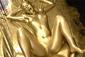 卯水咲流 腕の立つ女スナイパーが全身に金粉を塗られて変態SEX!