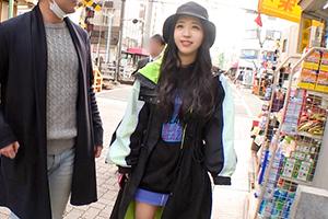 【ナンパTV】オシャレな服の下に巨乳を隠す女子大生が大好物のマッチョマンでイキ狂う!