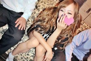 桜井レイラ 出会い系アプリでゲットした美白スレンダーギャルがクンニや手マンで責められる!