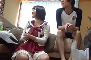白咲碧 お嬢様なのに時折出る関西弁のギャップが可愛い女友達を連れ込んで…