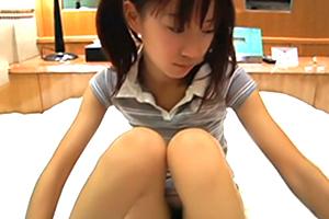 【個人撮影】生えたばかりの少女と初めてのラブホ