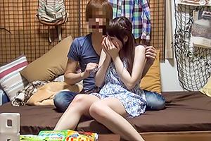 【盗撮】関西弁が可愛い清楚な田舎娘がヤリチン野郎にハメられるまでの一部始終…