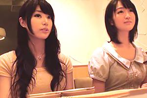 【盗撮】居酒屋でナンパしたタイプの違う女子大生を連れ込む!どっちとヤル!?