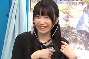 【マジックミラー号】ミスコン候補の女子大生と出会って即SEX!