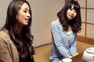 【盗撮】女子会で訪れた温泉旅館で変態マッサージ師の餌食になるママ友たち