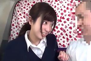 【向井藍 加賀美シュナ】上目遣いで後輩を落とす ぱるる似の女子校生!