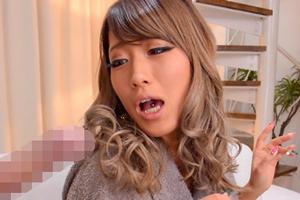 AIKA 巨乳黒ギャルとガン反り生チンポで孕ませ中出しセックス!