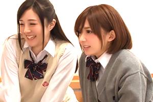 「ゴムなしでナマでして。」AVを勝手に見た女子校生が中出し懇願!
