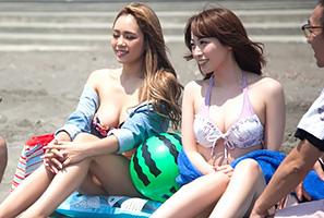 【ナンパ】夏だ!海だ!SEXの季節にガードが緩むビキニギャルに中出し!