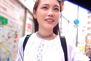 【素人】美少女王国台湾のアジアンビューティー女子大生に中出し!