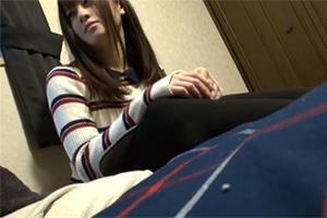 【流出】一人暮らしの部屋で女子大生の姉と無理やりSEXした弟の個人撮影