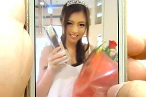 【橋口りおな】身長174cm!ミスコン準グランプリに輝いた現役女子大生がAVデビュー!