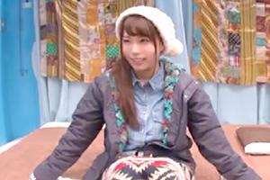 マジックミラー号 山ガールファッションの現役女子大生 ハメられる