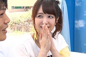 【マジックミラー号】早漏に惚れてしまったビキニ美女が暴発改善のお手伝い!