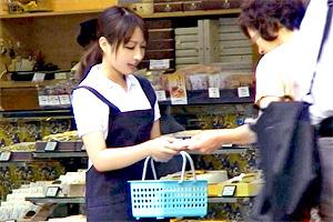 【素人】高円寺でティッシュ配ってたネカフェ店員をハメ撮りしてみた